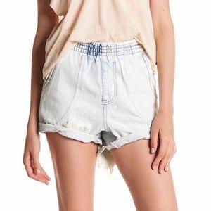 One Teaspoon Hunter classic raw cuff Shorts